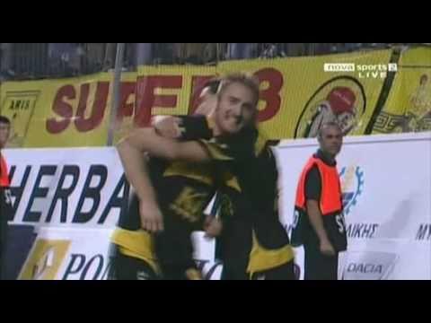 Aris - Ergotelis 1-0 (Cesarek Goal)