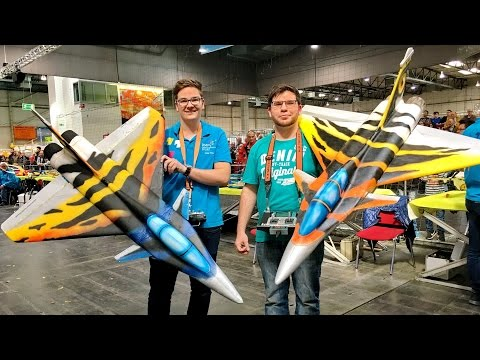 AMAZING RC RAFALE JET FOR INDOOR FLIGHT / LIGHT-WEIGHT SCALE MODEL JET IS PRESENTED / 2017