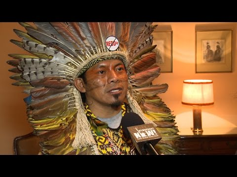 "Brazilian Indigenous Leader: Carbon Trading Scheme ""REDD"" is a False Solution to Climate Change"