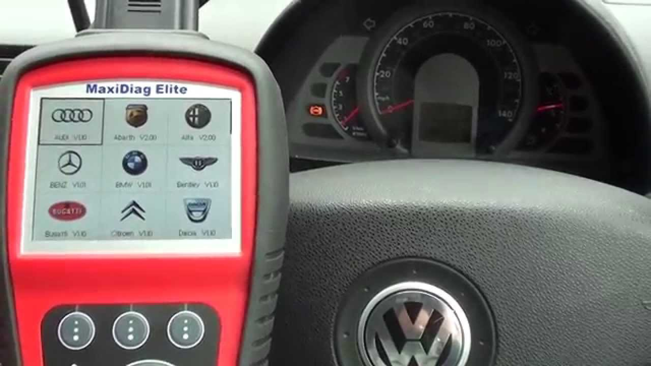 Goede VW ABS Sensor diagnose change & reset with Autel MD702 Diagnostic WR-82