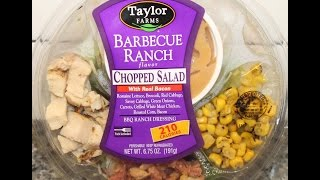 Taylor Farms Barbeque Ranch Chopped Salad with Real Bacon Review