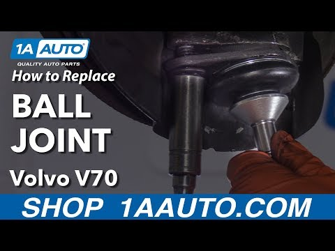 How to Replace Ball Joint 00-07 Volvo V70