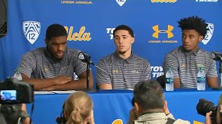 Raw Video: UCLA Players Apologize For Shoplifting Arrests In China
