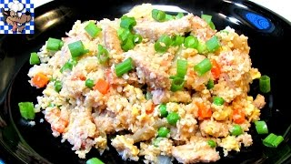 Chicken Fried Rice (Low Carb Recipe)