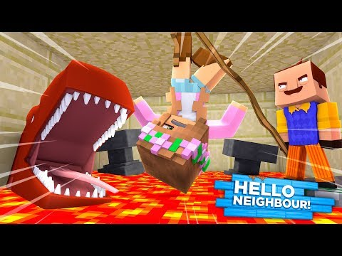 little-kelly-gets-fed-to-a-lava-shark!-minecraft-hello-neighbour