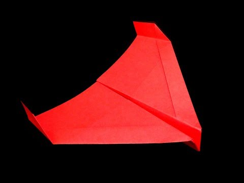 Hercules glider (How to make a paper airplane, one of the best paper airplanes)