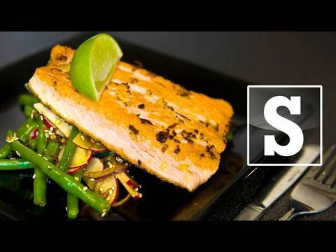 ASIAN GINGER SALMON RECIPE – SORTED