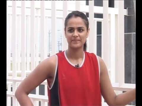Captain- Indian Netball team CWG-2010 Prachi Tehlan