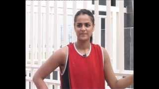 Captain- Indian Netball team CWG-2010 Prachi Tehlan