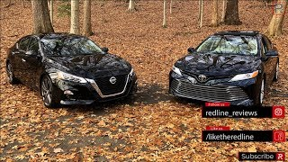 2019 Nissan Altima Vs 2019 Toyota Camry – Can Nissan Dethrone The Best Seller?