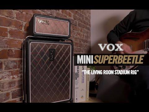 VOX MSB25 Mini SuperBeetle – The Living Room Stadium Rig