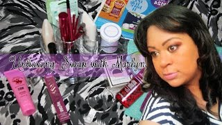 Unboxing Swap with marlyn - Intercambio con Marlyn #3  Abriendo Caja