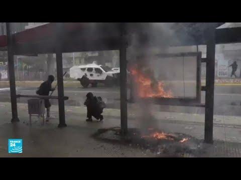 مقتل امرأة وجرح 17 شخصا خلال مواجهات بين الشرطة ومتظاهرين من السكان الأصليين في تشيلي