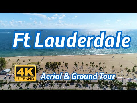 Fort Lauderdale Aerial & Ground Tour