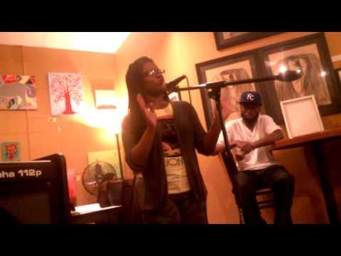 Kia Flow at Guerilla Poets' Free the Mic!