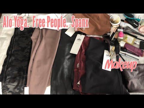 Alo Yoga clothing/ Free People clothing/ Spanx pants/ Makeup/ body creams/ Self care