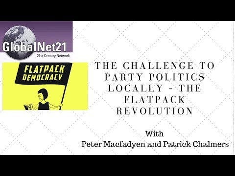 The Challenge to Party Politics Locally – the Flatpack Revolution