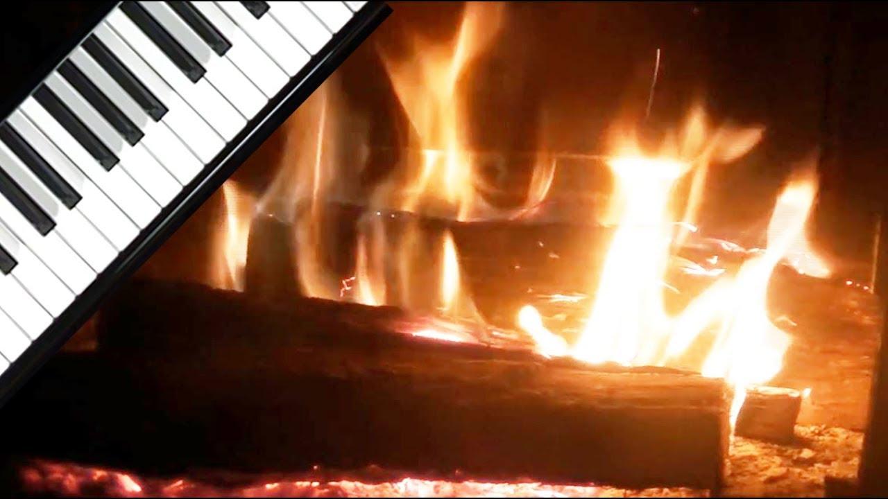 3 hrs piano th rapeutique et feu de chemin e romantique zen music meditation musique f. Black Bedroom Furniture Sets. Home Design Ideas