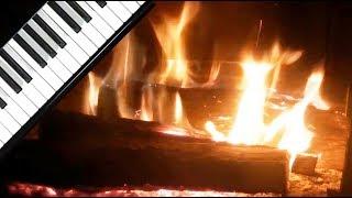 + 3 Hrs-Piano thérapeutique et feu de cheminée romantique -zen music, meditation, musique F. Amathy