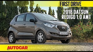 Datsun Redigo 1.0 AMT | First Drive | Autocar India