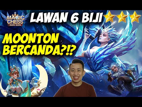 Lawan 6 Biji ⭐⭐⭐?? WOLES, Kita Punya HARITH & CHANG'E ⭐⭐⭐!! | Magic Chess Bang Bang Indonesia