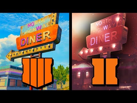 TRANZIT BUTCHERED?!? (SIDE BY SIDE COMPARISON) BO4 Vs. BO2 Tranzit Diner Zombies