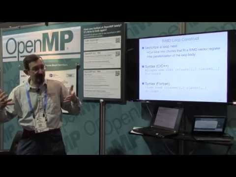 OpenMP 4.0 SIMD Features SC 14