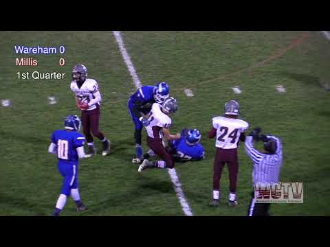 WHS Boys Football - PLAYOFFS Vikings vs Millis Mohawks 11-10-17