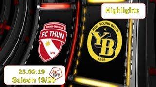 Highlights: Fc Thun Vs Bsc Young Boys