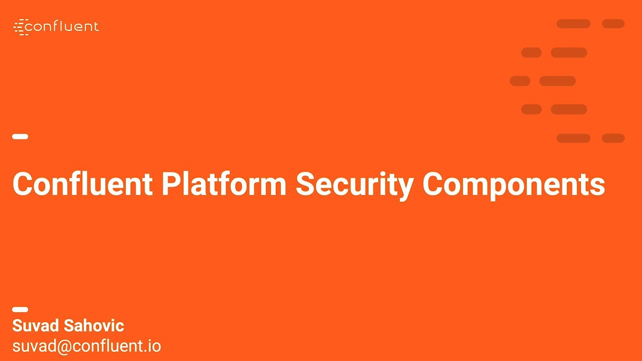 Demo: RBAC and Secret Protection in Confluent Platform (English)