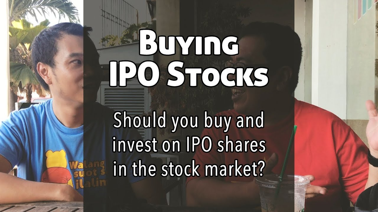 Invest in an ipo advertisement