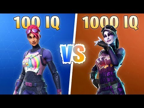 100 IQ WINNER Vs 1000 IQ WINNER - Fortnite Battle Royale