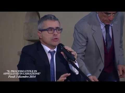 IL PROCESSO CIVILE IN APPELLO E IN CASSAZIONE (FONDI, 3DIC2014)