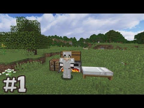 SÜPER HIZLI BAŞLANGIÇ #1 Minecraft Survival S\2 1.12