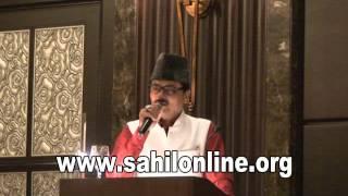 Sahilonline Bhatkal: Indian famous Urdu poet Manzar Bhopali in Abudhabi