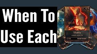 Health vs Shields vs Armor (Warframe)