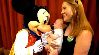 Baby's First Trip To Disney World! | Meeting Mickey, Riding Dumbo & The Little Mermaid!