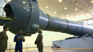 Chris Hadfield: Inside the Centrifuge