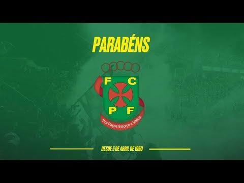 Parabéns FC Paços de Ferreira pelos 69 anos de história