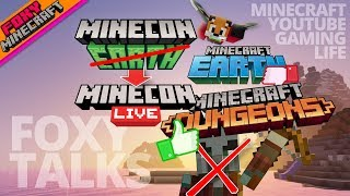 Minecraft Earth & Dungeons | Foxy Talks [11] | Bedrock Edition (MCBE)