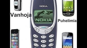Testataan vanhoja puhelimia