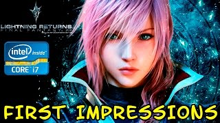 FIRST IMPRESSIONS | Final Fantasy XIII Lightning Returns [Geforce GT 635M 2Gb]