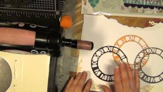 HOW TO MAKE STAMPS OUT OF THICK FUNKY FOAM WITH SIZZIX /TIM HOLTZ DIES