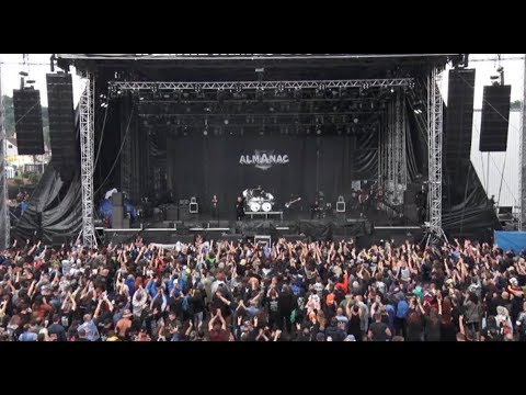 "Almanac live at the ""Masters of Rock 2017"", Czech Republic"