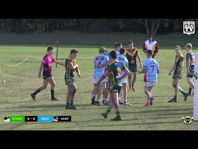 2019 Group 7 Under 18s Round 11 Highlights - Stingrays of Shellharbour vs Milton-Ulladulla