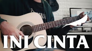 Noah - Ini Cinta (Acoustic Guitar Cover) by Andre Akbar   Karaoke + Lyrics