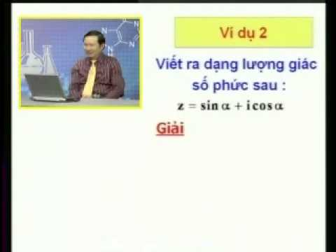 Chuyên đề Số Phức Phần 5 Và Phần 6-LUYỆN THI ĐẠI HỌC MÔN TOÁN - TOANCAPBA.NET