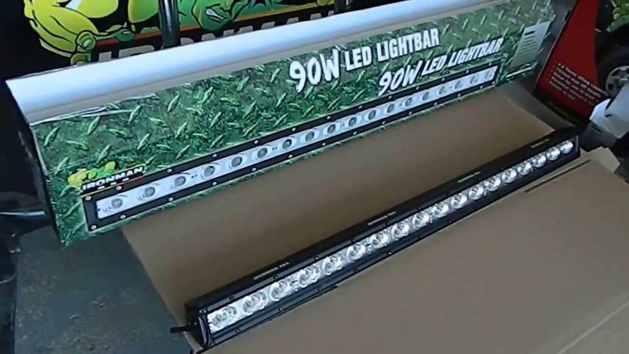ironman 4x4 led bar iledsr756 huma oto off road. Black Bedroom Furniture Sets. Home Design Ideas