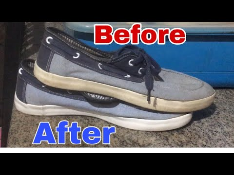 UKAY SHOES RESTORATION | Whitening Midsole | Cleaning Shoes | ep. 11