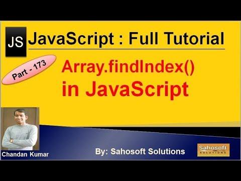 Array findIndex() in JavaScript | JavaScript Full Tutorial in Hindi thumbnail